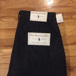 Polo Ralph Lauren wool trousers.